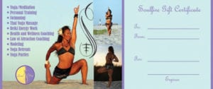 SoulFire Gift Certificate