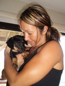 Soulfire and Souljoy, A girl and her angel-dog